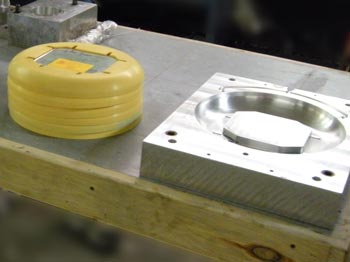 Injection molded part